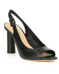Antonio Melani - Kalinda Leather Slingback Pumps - Lyst