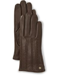 Lauren by Ralph Lauren - Ladies' Modern Points Touch Gloves - Lyst