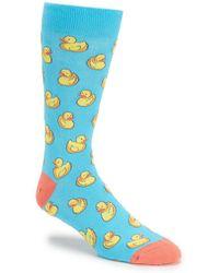 K. Bell - Rubber Duck Crew Socks - Lyst