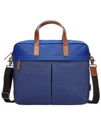 Fossil - Buckner Nylon Laptop Workbag - Lyst