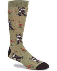 K. Bell - Novelty Garden Ninja Gnome Crew Socks - Lyst