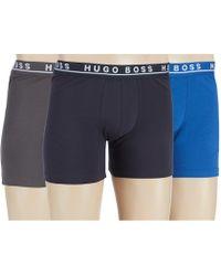 BOSS Boss Stretch Boxer Briefs Assorted 3-pack - Blue