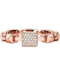Michael Kors - Premium Rose Gold Ring - Lyst