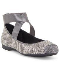 Jessica Simpson - Mandalaye Hotfix Ankle Strap Ballet Flats - Lyst