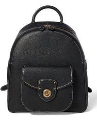 Lauren by Ralph Lauren | Millbrook Pebble Backpack | Lyst