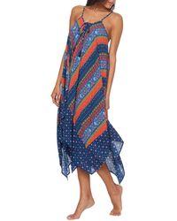 21079dd87c Lyst - Lucky Brand Summer Lovin Convertible Tube Dress Swimsuit ...