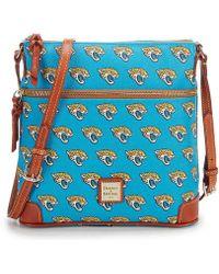 Dooney & Bourke - Nfl Jacksonville Jaguars Cross-body Bag - Lyst
