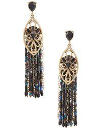 Belle By Badgley Mischka - Tassels Statement Earrings - Lyst