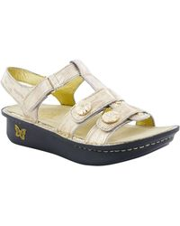 Alegria - Kleo Metallic Sandals - Lyst
