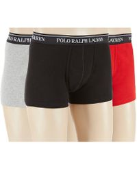 Polo Ralph Lauren - Knit Trunks Assorted 3-pack - Lyst