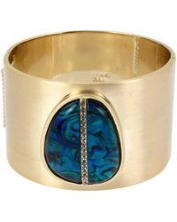 Kenneth Cole - Abalone Statement Bangle - Lyst