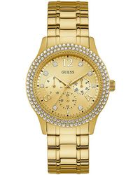 Guess - Shimmering Sport Multifunction Watch - Lyst