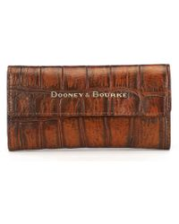Dooney & Bourke - Covington Collection Continental Clutch - Lyst