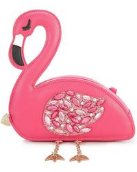 Betsey Johnson - Flamingoals Cross-body Bag - Lyst