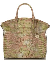 09ffe5ff6ea72 Brahmin Large Duxbury Satchel Top-handle Bag - Lyst
