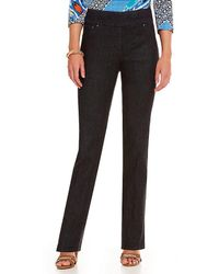 Ruby Rd. - Petite Pull-on Denim Jeans - Lyst