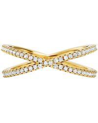 Michael Kors - Custom Kors Collection Sterling Silver Nesting Ring Insert - Lyst