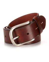Fossil - Cullen Leather Belt - Lyst