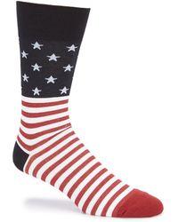 Johnston & Murphy - Men's Flag Socks - Lyst