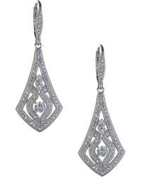 Nadri - Pavé Drop Earrings - Lyst