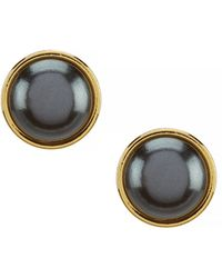 Kate Spade - Small Round Stud Earrings - Lyst