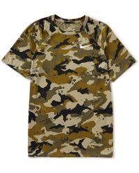 db413e347b6e Lyst - Nike Dry Knurling Short-sleeve Legend Training T-shirt in ...