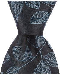 "Murano - Big & Tall Dexter Fancy Leaf Traditional 3.12"" Silk Tie - Lyst"