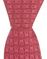 "Psycho Bunny - Multi Bunny Traditional 3.25"" Silk Tie - Lyst"