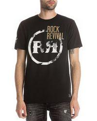 Rock Revival - Short-sleeve Logo Circle T-shirt - Lyst