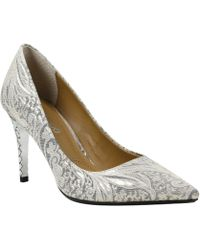 dee761bf61b4 J. Reneé - Maressa Ornate Floral Pumps - Lyst