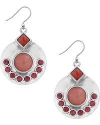 Lucky Brand - Set Stone Drop Earrings - Lyst