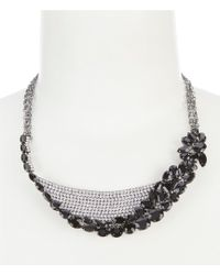 Belle By Badgley Mischka - Sweep Collar Necklace - Lyst