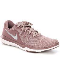 2c197e1c8fbec Nike - Women s Flex Supreme Tr 6 Print Training Shoe - Lyst