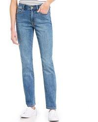 Tommy Hilfiger - Tribeca Straight Leg Jeans - Lyst