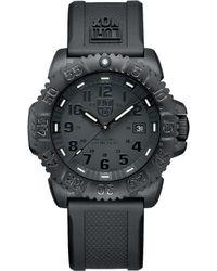 Luminox - Blackout Navy Seal Colormark Watch - Lyst