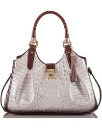 Brahmin | Durance Collection Elisa Tasseled Hobo Bag | Lyst