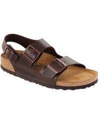 Birkenstock - Milano Leather Sandals - Lyst