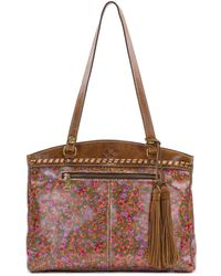 Patricia Nash - Peruvian Fields Collection Poppy Tote - Lyst
