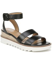 564a8b27686f Franco Sarto - Connolly Leather Wedge Sandals - Lyst