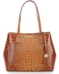 Brahmin - Toasted Almond Collection Medium Julian Tote - Lyst