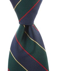 "Brooks Brothers - Argyle & Sutherland Traditional 3.25"" Silk Tie - Lyst"