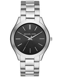 Michael Kors | Men's Slim Runway Stainless Steel Bracelet Watch | Lyst