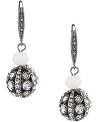 Jenny Packham - Rose Fire Ball Drop Earrings - Lyst