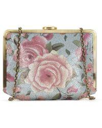 Patricia Nash - Cariati Crackled Rose Garden Clutch - Lyst