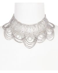 Belle By Badgley Mischka | Mata Hari Statement Choker Necklace | Lyst