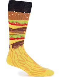K. Bell - Novelty Burger And Fries Crew Socks - Lyst