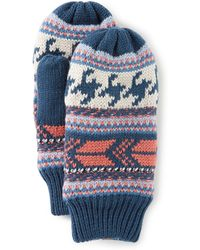 The North Face - Ladies' Fair Isle Mittens - Lyst