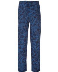 Polo Ralph Lauren - Floral Print Woven Pajama Pants - Lyst