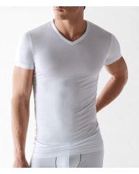 Calvin Klein - Micro Modal V-neck Tee - Lyst