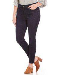 Silver Jeans Co. - Plus Size Mazy Skinny Jeans - Lyst